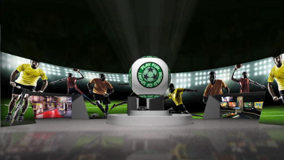 Soccer Entertainment Design Project Green Spirit