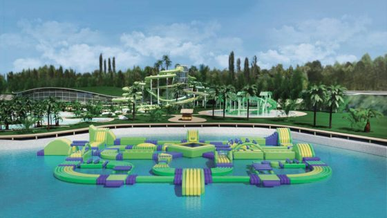 water park design project Green Spirit