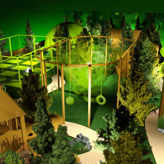 Green Forest Entertainment Design Project Green Spirit