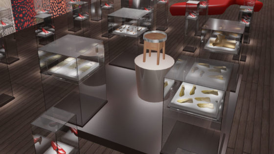 Ferragamo Exhibition Green Spirit Design Studio