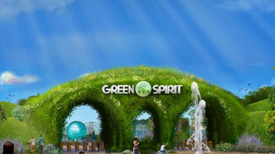 Green Spirit Park Edutainment and Entertainment Design China